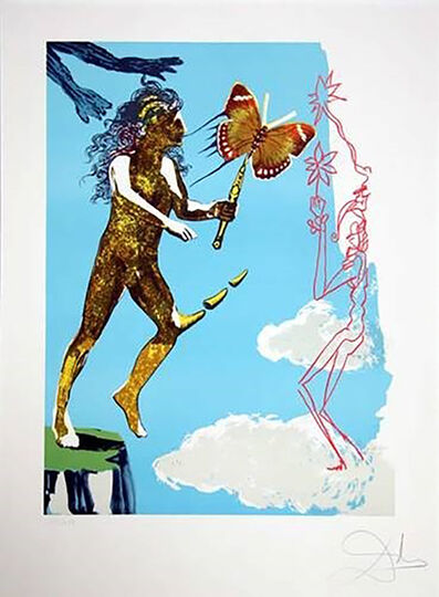 Salvador Dalí, 'Release of the Psychic Spirit from Magic Butterfly & the Dream Suite', 1978