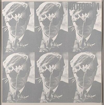 Dennis Hopper, '1964 Art Forum-Andy Warhol (White Version)', 1988
