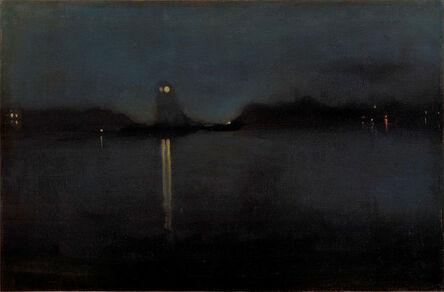 James Abbott McNeill Whistler, 'Nocturne', ca. 1870-77