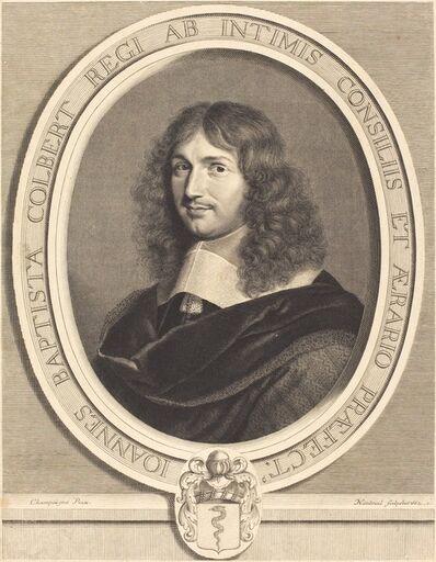 Robert Nanteuil after Philippe de Champaigne, 'Jean-Baptiste Colbert', 1662