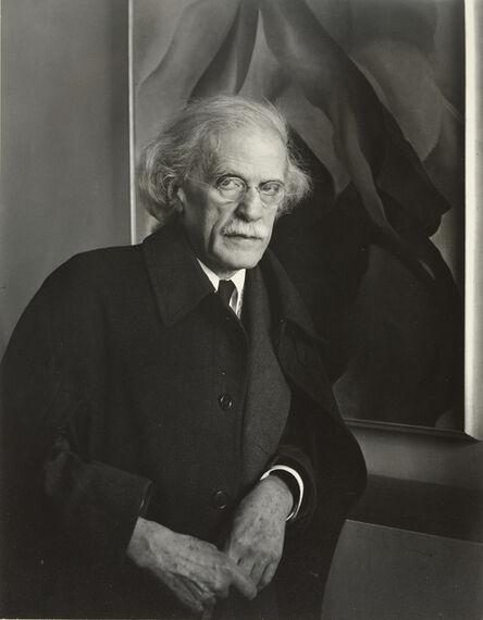 Imogen Cunningham, 'Alfred Stieglitz, Photographer', 1934
