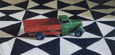 Lucy Mackenzie, 'Toy Truck on a Printed Cloth', 2012