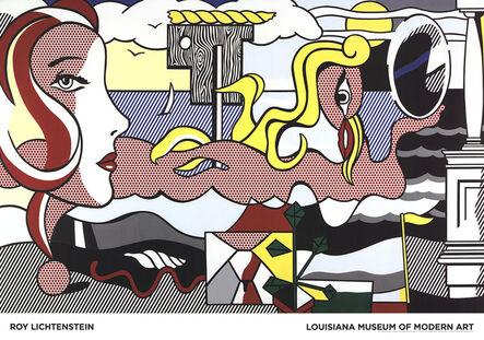 Roy Lichtenstein, 'Figures in Landscape', 2016
