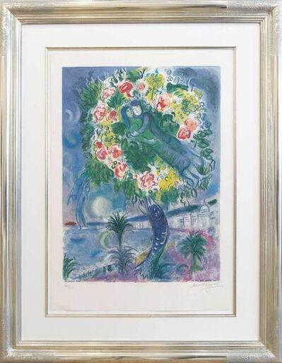 Marc Chagall, 'Couple et Poisson (Nice et la Côte d'Azur)', 1967