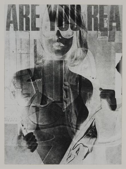 Robert Heinecken, 'Are You Rea #1', 1964-1968