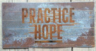 Sean Hart, 'PRACTICE HOPE (Echoes Series)', 2016