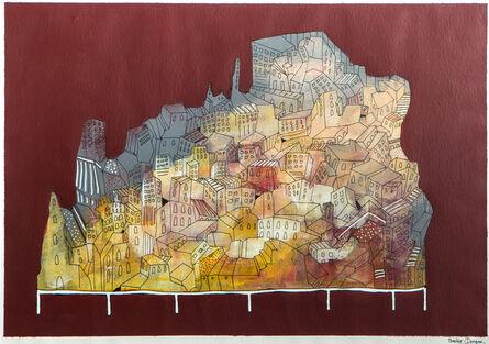 Bashir Qonqar, 'City 2', 2016