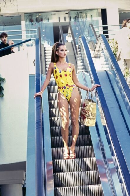 Arthur Elgort, 'Kate Moss, Los Angeles, CA, Vogue', 1995