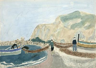Max Peiffer Watenphul, 'Strand bei Cefalù', 1938