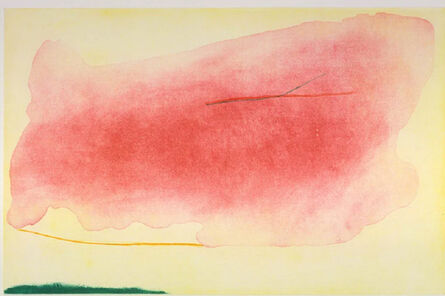 Helen Frankenthaler, ''Nepenthe' Etching and Aquatint in Colors, 1972', 1972