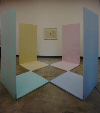 Alejandro Puente, 'Complementarios llevados al blanco', 1967