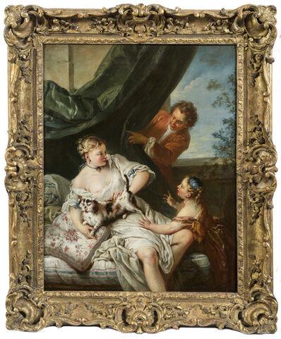 François Boucher, 'The Surprise', 1723-1725