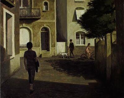 Marc Chalmé, 'La ruelle ensoleillée'