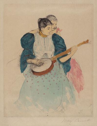 Mary Cassatt, 'The Banjo Lesson', ca. 1893