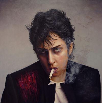 Sujin Oh, 'Smoke Lady Gaga', 2013