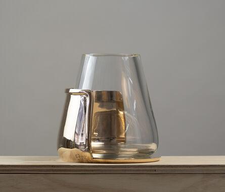 Eric Schmitt, 'Bronze and glass vase by Eric Schmitt', 2017