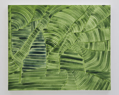 Benjamin Butler, ' Green (Forest Path)', 2019
