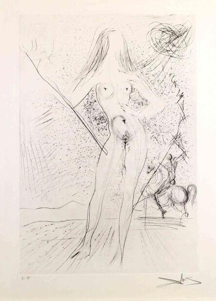 Salvador Dalí, 'Venus de la Constellaciones con Picador', 1975