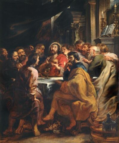 Peter Paul Rubens, 'The Last Supper', 1631-1632