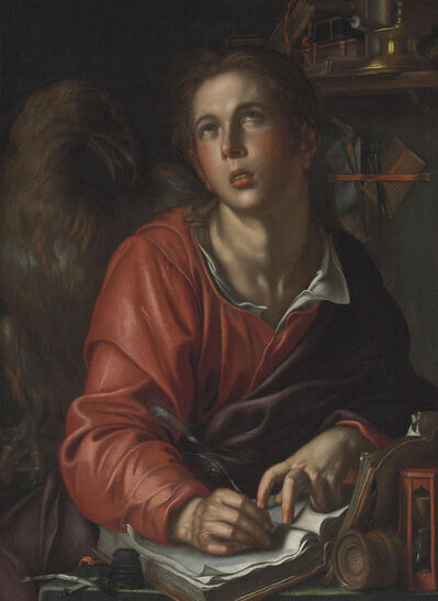 Joachim Anthonisz Wtewael, 'Saint John the Evangelist', ca. 1610-1615