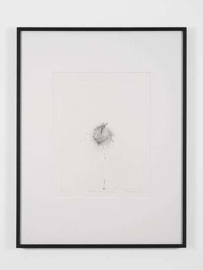 Gavin Turk, 'Exhaust Etching (Particle)', 2016