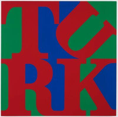 Gavin Turk, 'Love Turk (Red, Green and Blue)', 2009