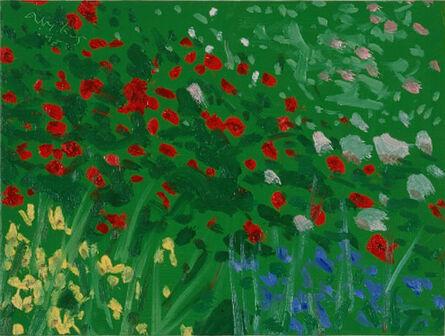 Alex Katz, 'Roses #1', 1998