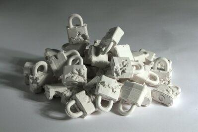 Daniel Arsham, 'Crystal Eroded Locks', 2013