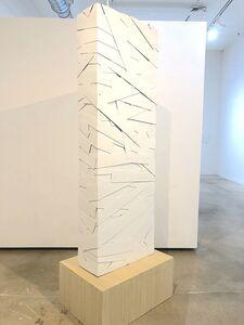 Ricardo Cardenas, 'Columna Blanca', 2017
