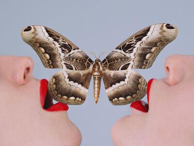 Tyler Shields, 'Butterfly', 2017