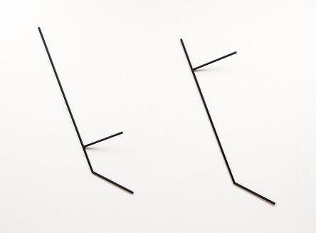 Waltercio Caldas, 'Ferro pintado VI', 1978