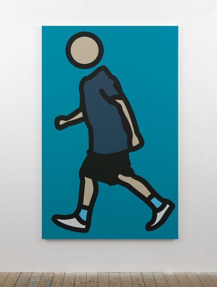 Julian Opie, 'Paul running. 4', 2012