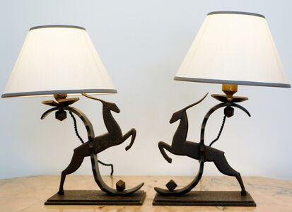 Michel Zadounaïsky, 'Pair of Table Lamps, by Michel Zadounaïsky', ca. 1925