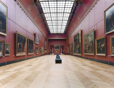 Candida Höfer, 'Musée du Louvre Paris XXII', 2005