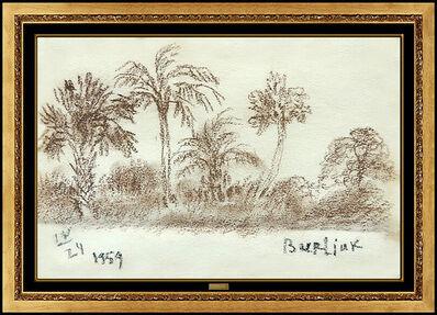 David Burliuk, 'Florida Palms', 1959