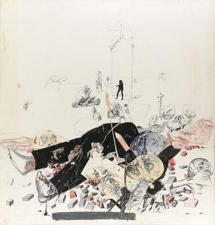 Dado, 'La Lettre à Mathey', 1974