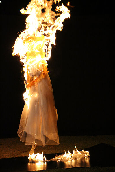 Adriana Marmorek, 'RELIC # 16 II - Wedding Gown', 2016