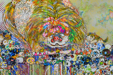 Takashi Murakami, 'Lion Occupying the Throne in My Heart', 2018