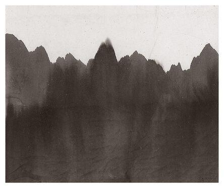Gao Xingjian 高行健, 'Mountain and River (Montagne et Rivière) 山水', 2010