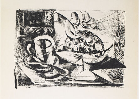 Pablo Picasso, 'Nature Morte Au Compotier (Still Life At The Fruit Bowl), 1949 Limited edition Lithograph by Pablo Picasso', 1949