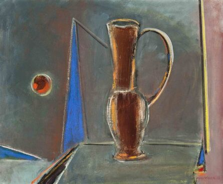 Max Weber, 'The Brown Pitcher', 1953