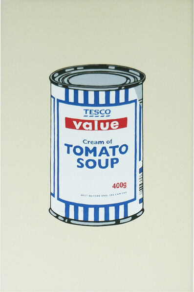 Banksy, 'Soup Can(reproduction)', 0000