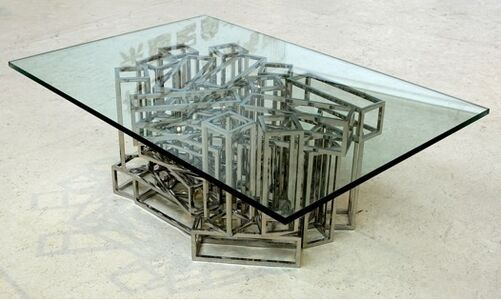 XYZ Design, 'Cube Coffee Table', 2005