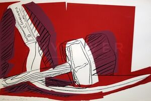 Andy Warhol, 'Hammer and Sickle (FS II.162)', 1983