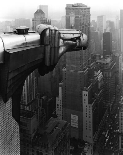 George Tice, 'From The Chrysler Building, New York', 1978
