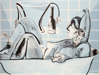 Danielle Orchard, 'Blue Bather', 2019