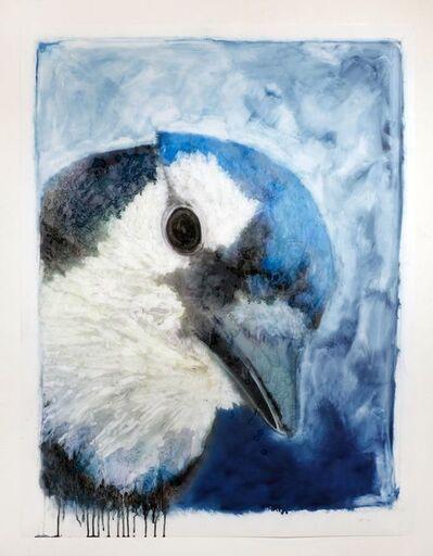 Ida Applebroog, 'Portraits (Blue Jay)', 2019