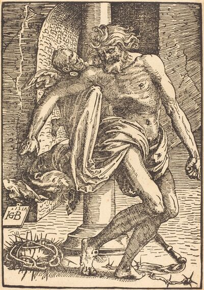 Hans Baldung, 'Christ on the Pillar', 1517