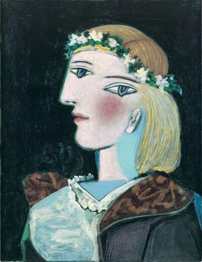 Pablo Picasso, 'Marie-Thérèse avec une guirlande', 1937