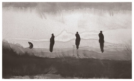 Gao Xingjian 高行健, 'On the Shore (Sur la rive) 此岸', 2016